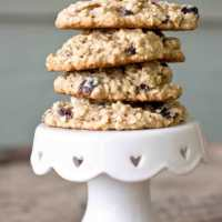 Cream Cheese Oatmeal Raisin Cookies