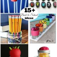 15+ Back to School Ideas