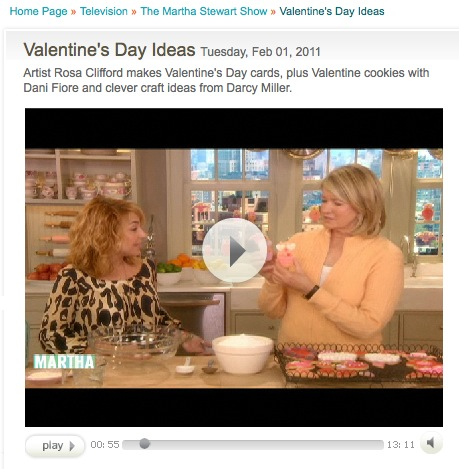 Cookie Segment with Martha Stewart and Sweet Dani B