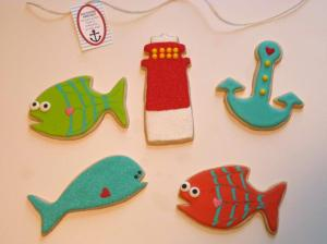 Jack's Nautical Assortment of Couture Cookies