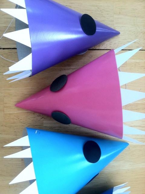 Shark Hats on sides