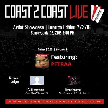 Win Tickets to watch Petraa perform her hot reggae single 'Love is Eternal' in Toronto!