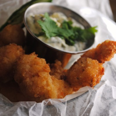 Homesick Texan Cookbook ~ Fried Shrimp