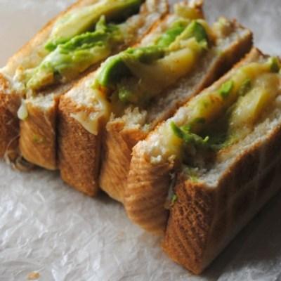 Avocado Grilled Cheese Sandwich #ILoveAvocados #AmoLosAguacates