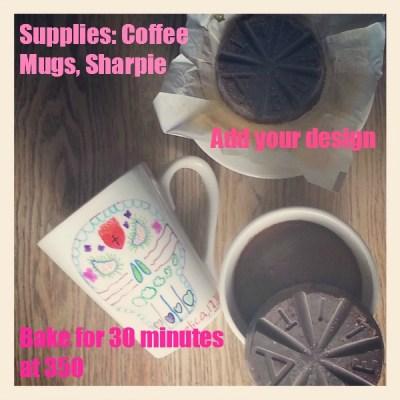 DIY ~ Dia de Los Muertos Mugs