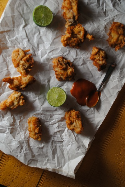 pysters, fried oysters, texas oysters