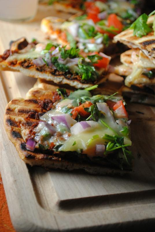 Pizza a la Parrilla Mexicana