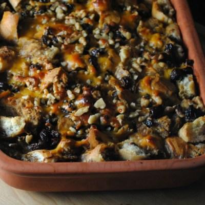 Mexican Bread Pudding – Capirotada