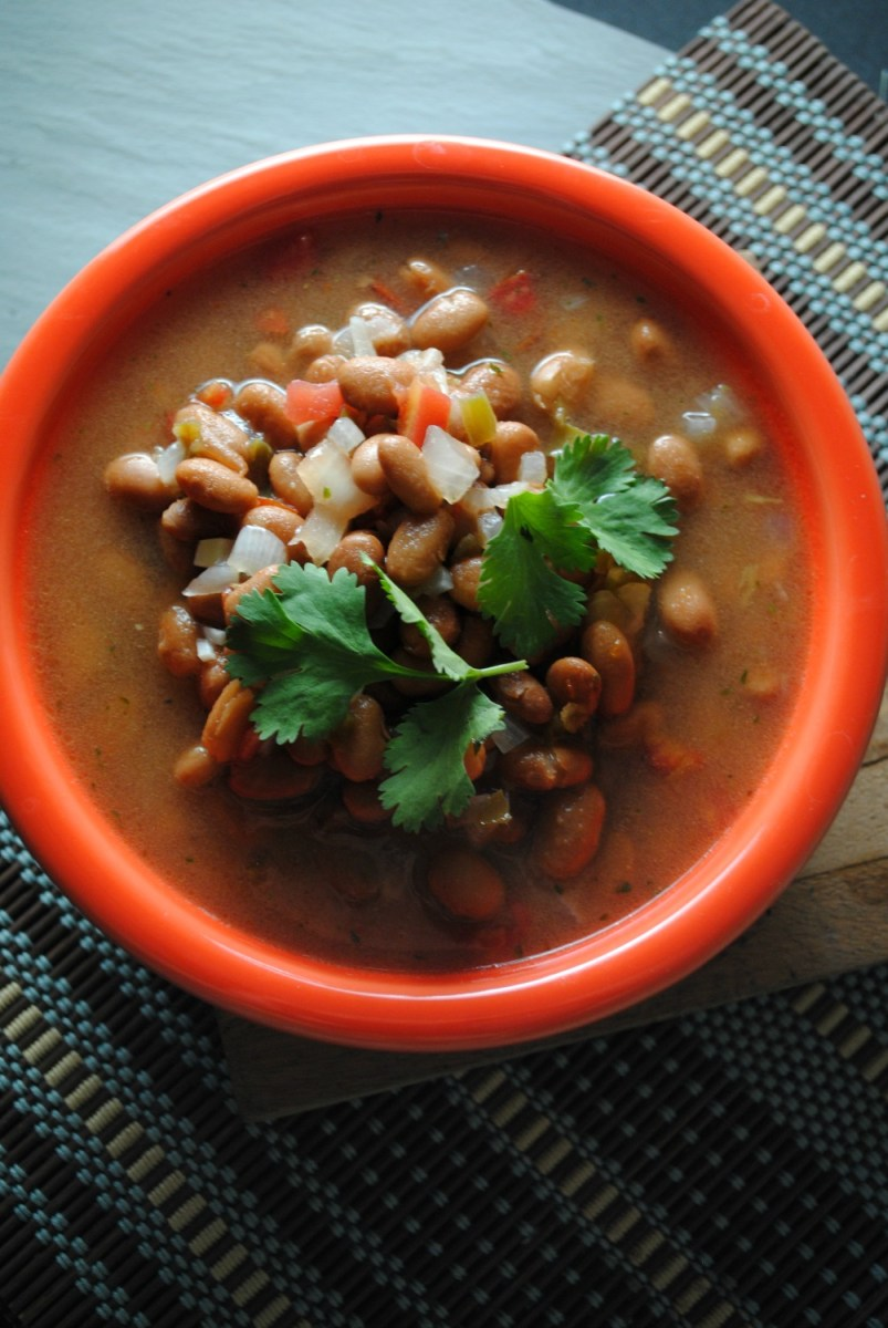 Simmered Pinto Beans