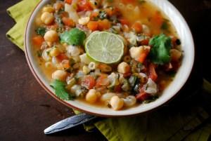 Hearty Garbanzo Soup #EverydayMavenBaby