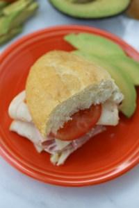 Ham and Cheese Torta Sandwiches (Torta de Jamon y Queso)