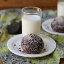 Chocolate Churro Muffins