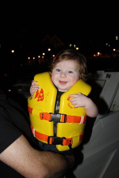 baby life jacket boat