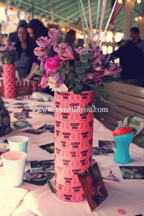 Ticket vase