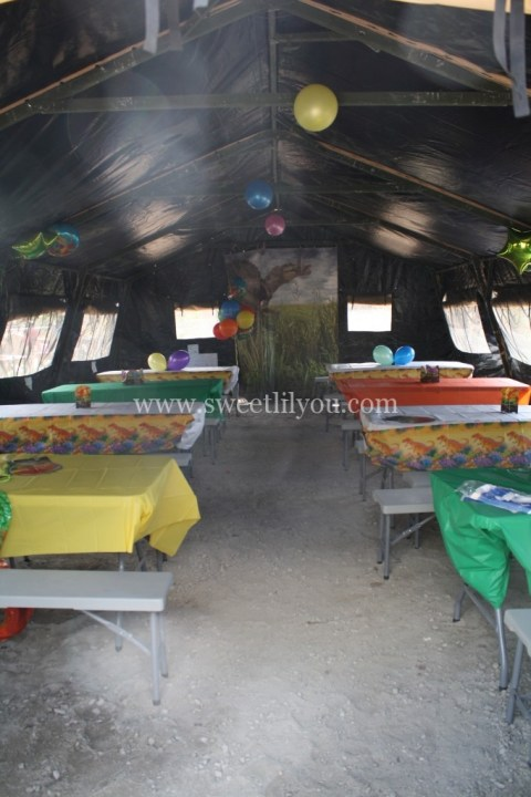 private party tent