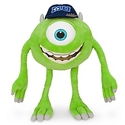 Mike Wazowski plush monsters university