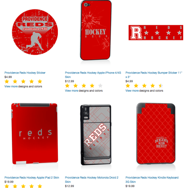 ipad iphone skins vintage hockey