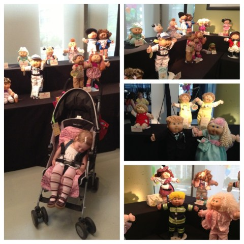 cabbage patch kids through the years #cpk30th