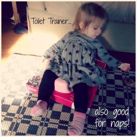 toilet trainer bumbo nap potty training