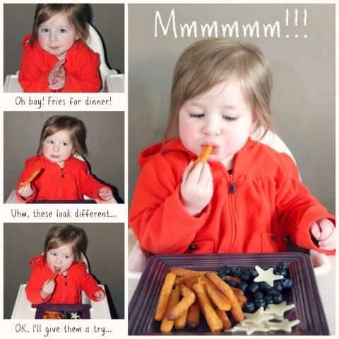Veggie Fries are a great way to kid picky eaters to eat their veggies! #sponsored
