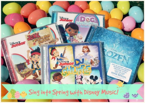Sing Into Spring with Disney music!