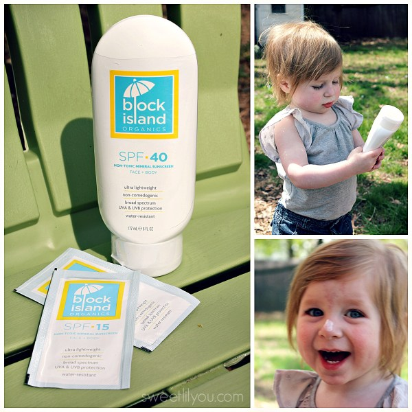 Block Island Organics SPF 40 Mineral Suncreen Non Toxic