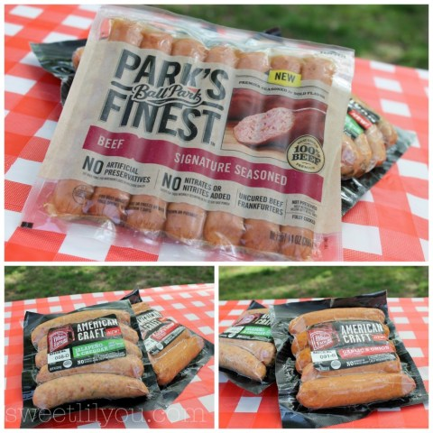 Ball Park Park's Finest and Hillshire Farm American Craft Sausages available at Price Chopper #PriceChopperBBQ #shop #cbias