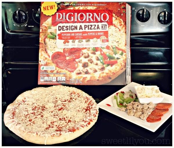 DIGIORNO® Design A Pizza Kit Toppings Included #DesignAPizza #Digiorno  #shop #cbias
