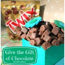 Give the gift of chocolate #eatmorebites twix bites