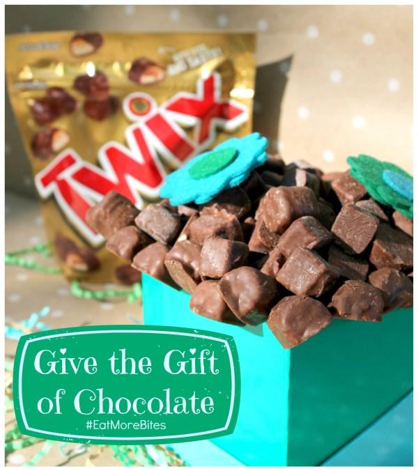 Give the gift of chocolate TWIX Bites #eatmorebites #shop