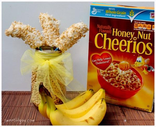 Cheerio covered bananas #pricechopperb2s
