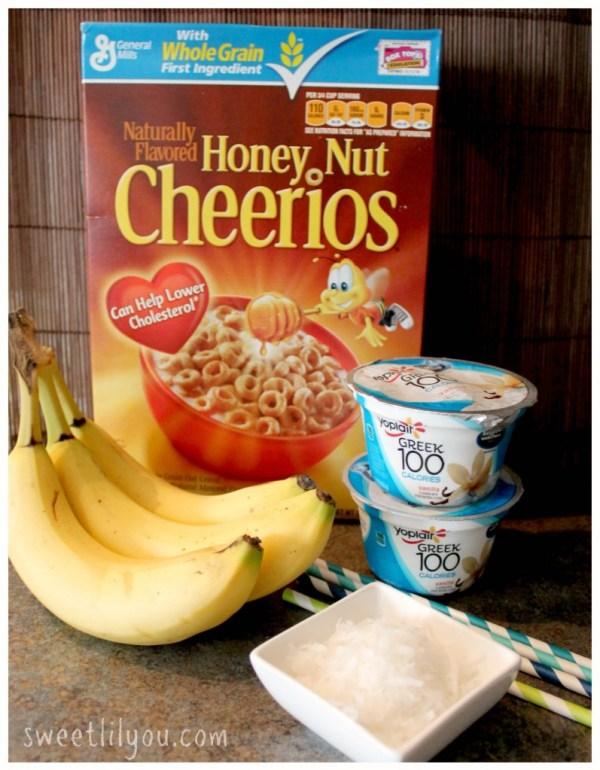Ingredients for Banana pops #PriceChopperB2S