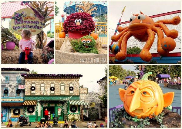 the halloween decorations were fun and creative we loved seeing the park decked out for - Sesame Place Halloween