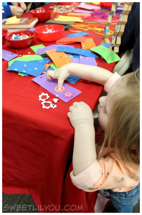 Crafts at the festival of Children's books and Authors