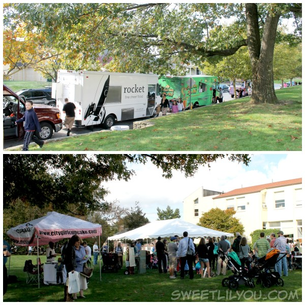 Food Trucks and cupcakes at The Lincoln School