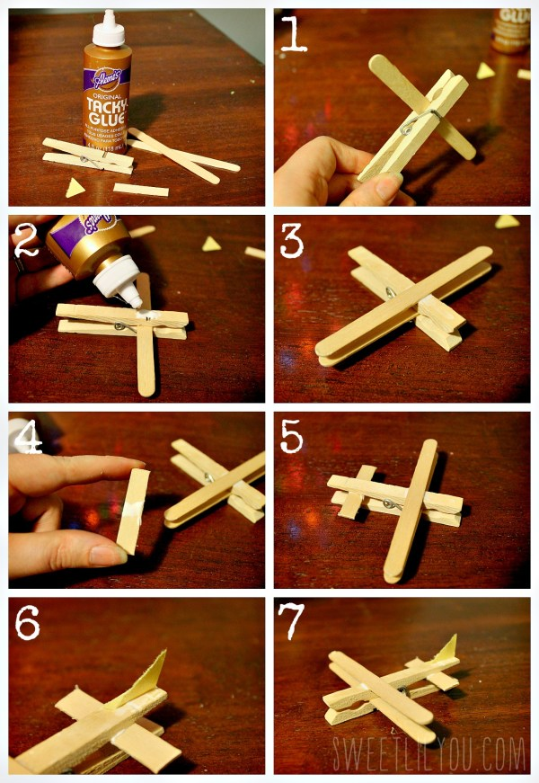 Step by step airplane craft #PlanesToTheRescue #ad