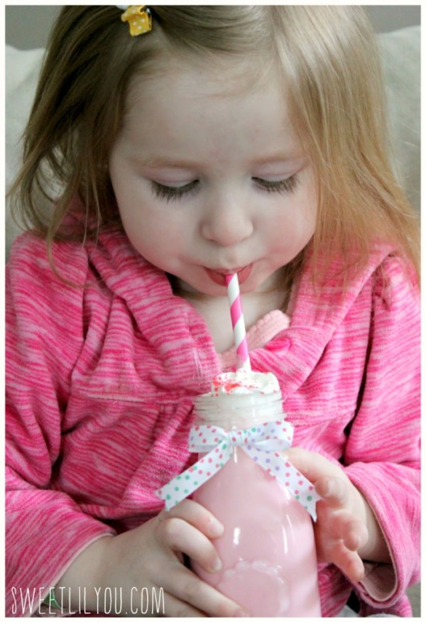 Kids love hot chocolate