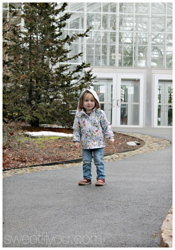 Microfashion Toddler floral windbreaker H&M