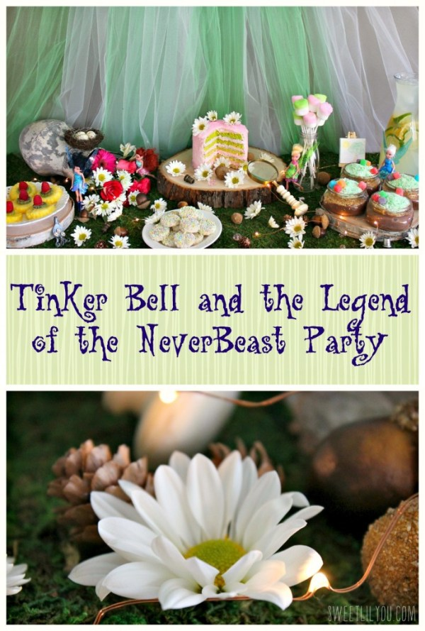 Tinker Bell Party Ideas From Sweetlilyou.com!