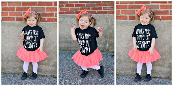 Toddler and kids tees for mothers day