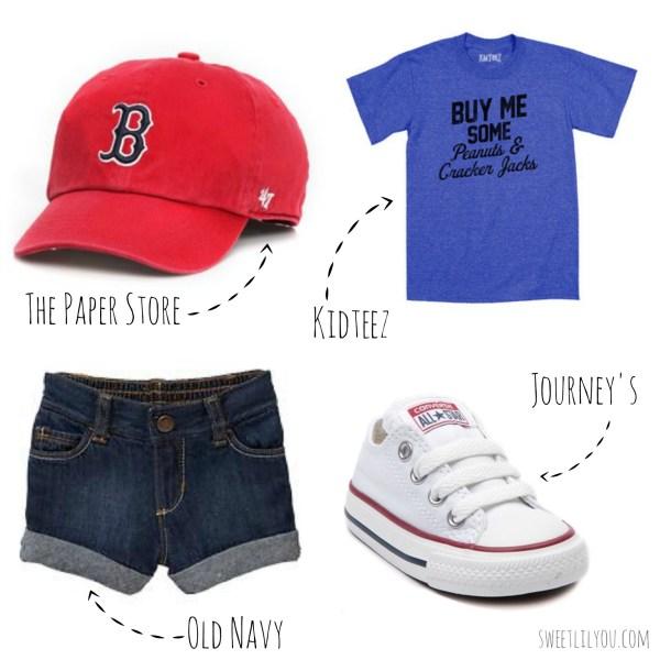 Baseball Themed fashion for kids
