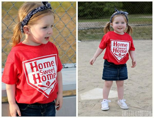 Home Sweet Home Tee - Baseball Style