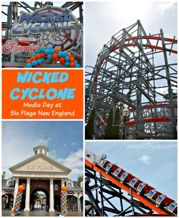 Wicked Cyclone Media Day at Six Flags New England