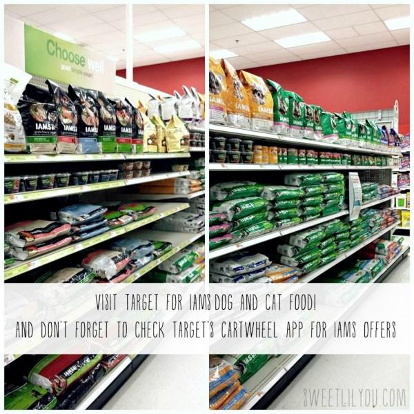 Iams at Target