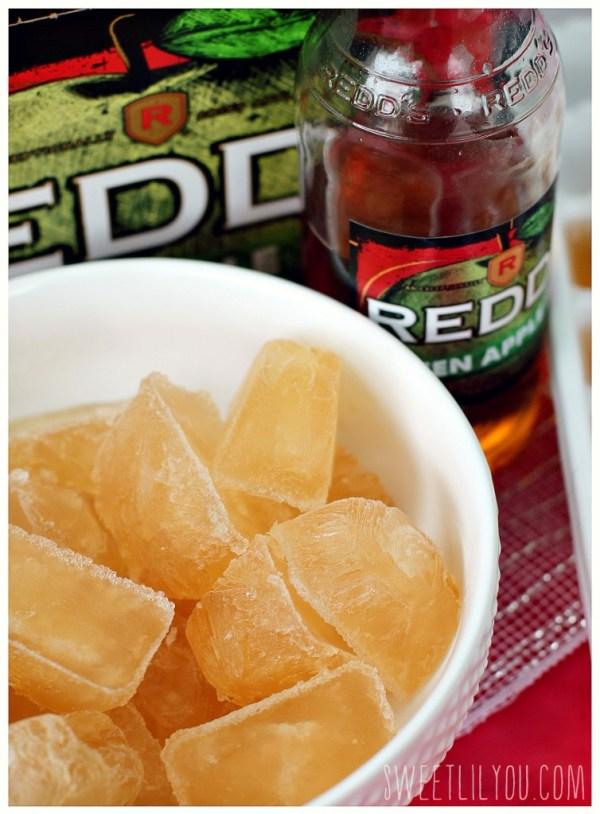 Redd's Green Apple Ice Cubes