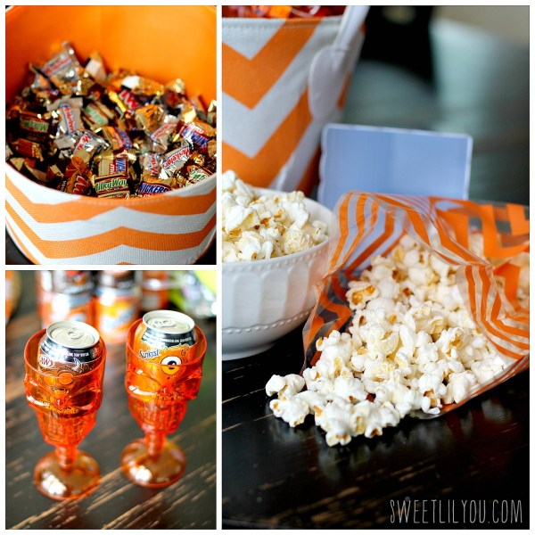 How to Create a Movie Boo Basket