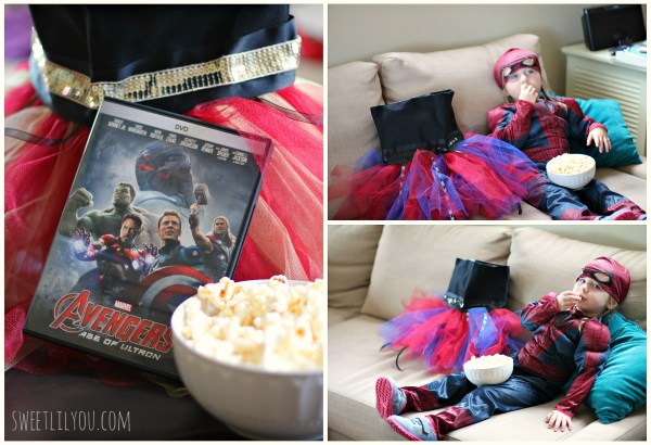 Movie Night with Avengers