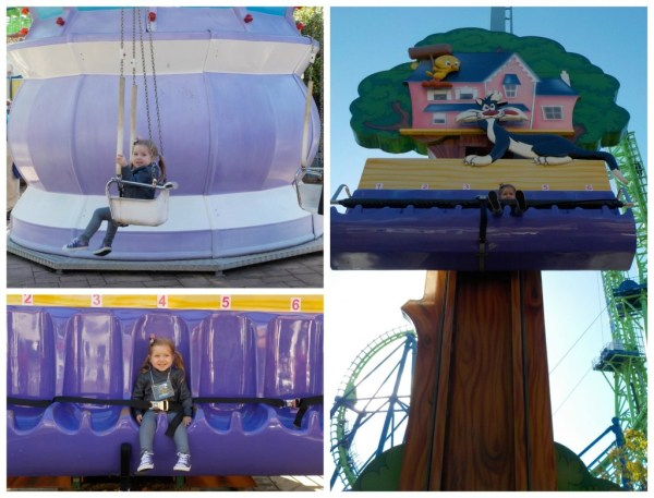Rides for little kids at six flags