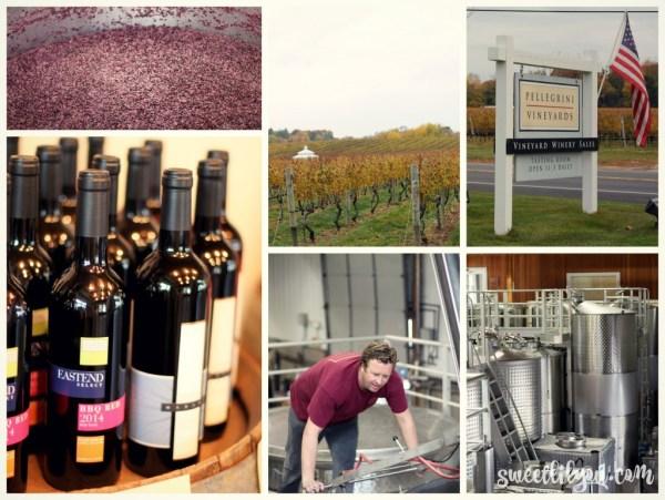 Pellegrini Vineyards views