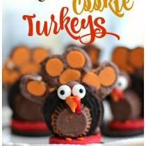 Thanksgiving Cookie Turkeys